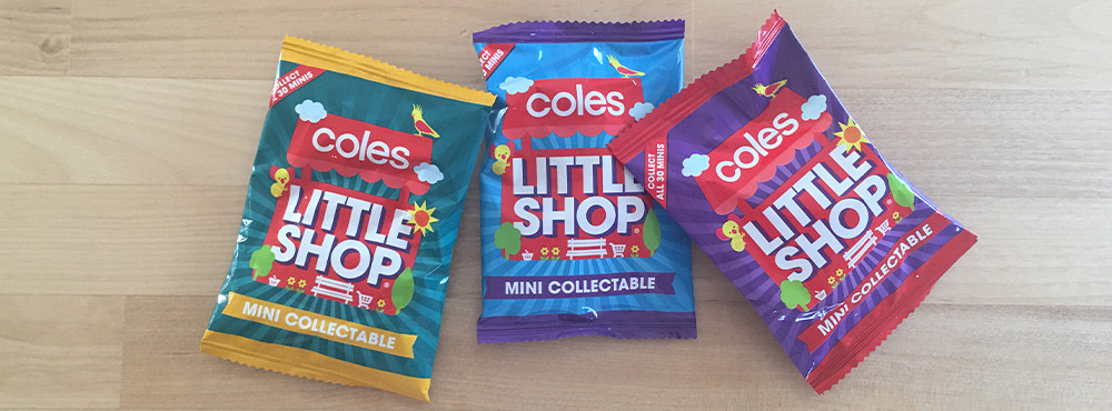 coles little shop budget